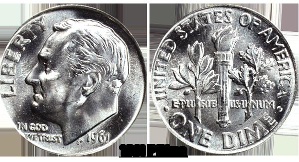 1961 Dime